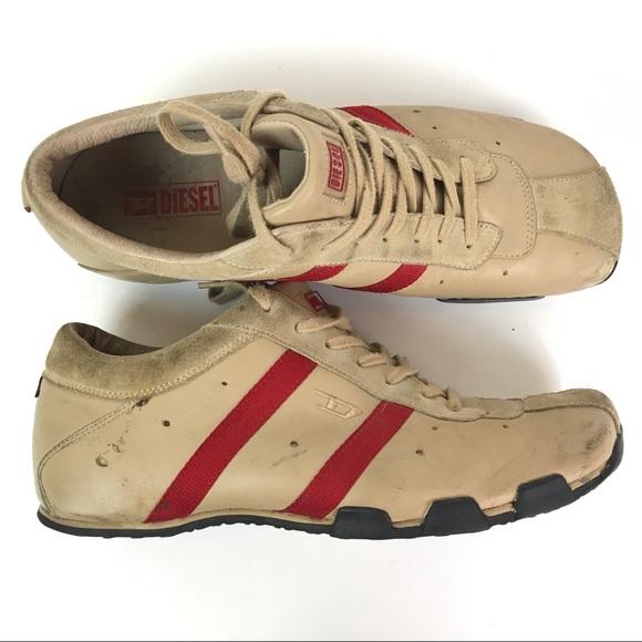 Diesel Mens Vintage Sneakers Size 5